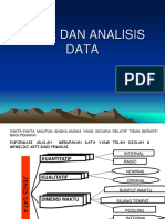 Data Dan Teknik Analisis Data