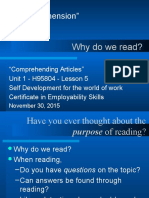 Comprehension u 1 l 09