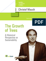 Christof Mauch the Growth of Trees Carl-Von-Carlowitz-Series 2014