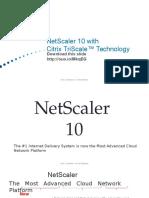 NetScaler 10 Customer Presentation