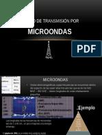 Medio de Transmisión Por microondas