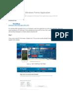 Sending SMS via Windows Forms Application