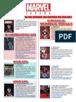 Catálogo FEBRERO 2017 Marvel