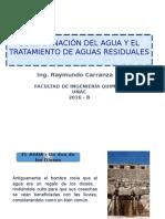 Clase 3 Contaminacion de Agua -Tratamiento de Aguas Residuales -Agosto 2016 (3)