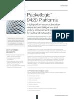 Procera DS PacketLogic9000 Platform