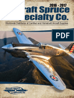 Aircraft Spruce Catalog 2017
