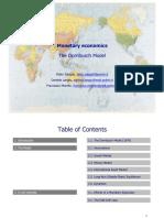 2016 I Semester - Monetary Economics - Dornbush Model