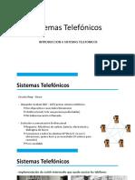 02. Sistemas Telefonicos-Introduccion a Sistemas Telefonicos