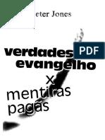 Verdades Do Evangelho x Mentiras Pagãs Peter Jones