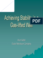 3 - 01 --- Presentation --- DPC --- Achieving Stability in a Gas-lifted Well
