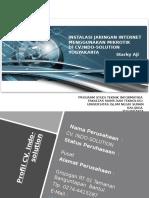 96623604-Laporan-Kerja-praktek-Instalasi-Jaringan-Mikrotik-Di-CV-indo-solution.pptx