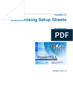 Delcam - PowerMILL 7.0 Customising Setup Sheets en - 2006
