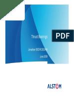 Thrust Bearings by Alstom