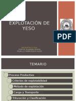 Explotacion de Yeso