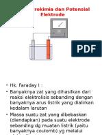 Potensial Elektrode Dan Elektrolisis 2016