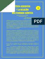 FÍSICA ASOCIATIVA Y LA RELACIÓN MULTIVARIADA CUÁNTICA