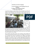 Sangat Sindh Report on Sanitation Report