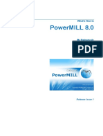 Delcam - PowerMILL 8.0 Whats New en - 2007