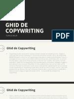 Ghid de Copywriting - Flavius Noja