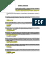 Psicologia General Primer Bimestre