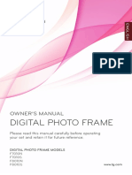 LG Digital Photo Frame Manual
