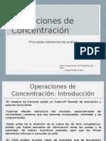 Operaciones de Concentración