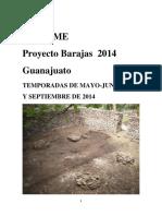 Informe Barajas 2014