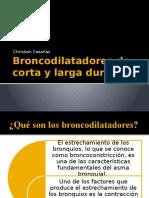 Broncodilatadores de Corta y Larga Duración