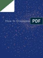 El-Wardany, Haytham - How to Disappear