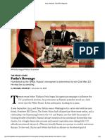 Putin's Revenge - POLITICO Magazine