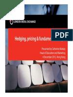 Hedging Pricing Fundamental Analysis English Version
