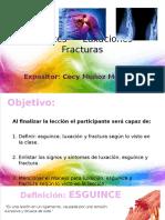 UNIDAD II - ESGUINCES, LUXACIONES Y FRACTURAS.pptx