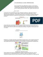 Materiales Ignifugos y Resistentes Altas Temperaturas