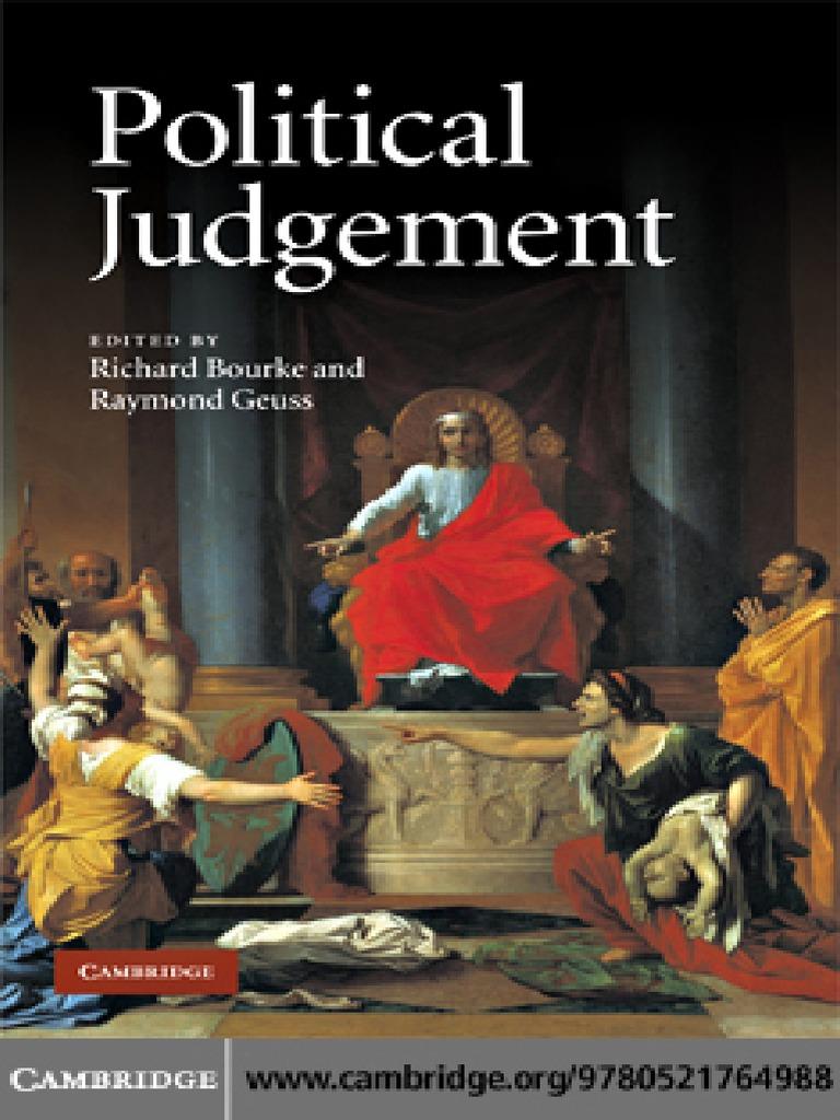 political judgment essays for john dunn