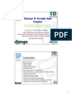 Django and Google App Engine
