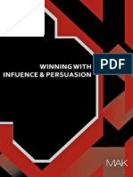 Winning With Influence and Persuasion