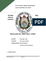Documento de Tecnologia Web