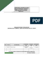 Requisicion de Materiales Mecanicos Procesos