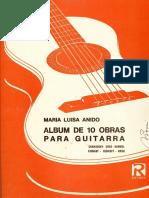Maria Luisa Anido Album de 10 Obras