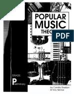 Popular Music Theory Grade Preliminary