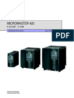 MICROMASTER 420 Operating Instructions.pdf