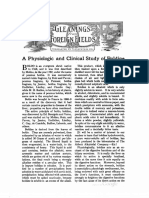 A Physiologic and Clinical Study of Boldine (Revue therapeutique des Alcaloides, March 1912)
