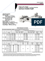 1031 Fy Fxd Duplex Power Pump