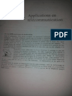 Applications en Télécommunication