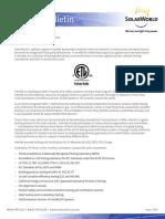 ETL Listing PV Modules