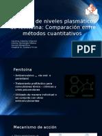 Medición de Niveles Plasmáticos de Fenitoína