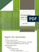 Forwarding With Nginx