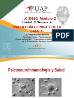 SEMANA 4 Psiconeuroinmunología