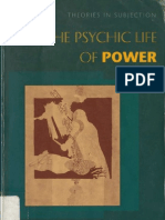 Judith Butler - The Psychic Life of Power~ Theories in Subjection (0804728119)