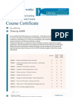 how language works course certificate